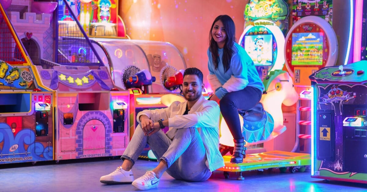 couple jeux d'arcade