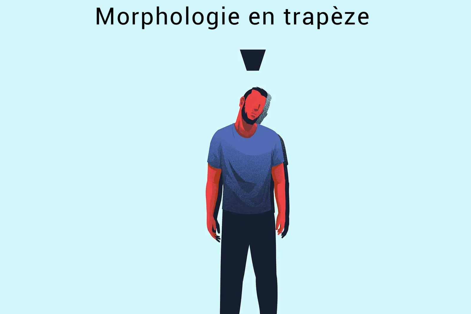 morphologie en trapèze homme