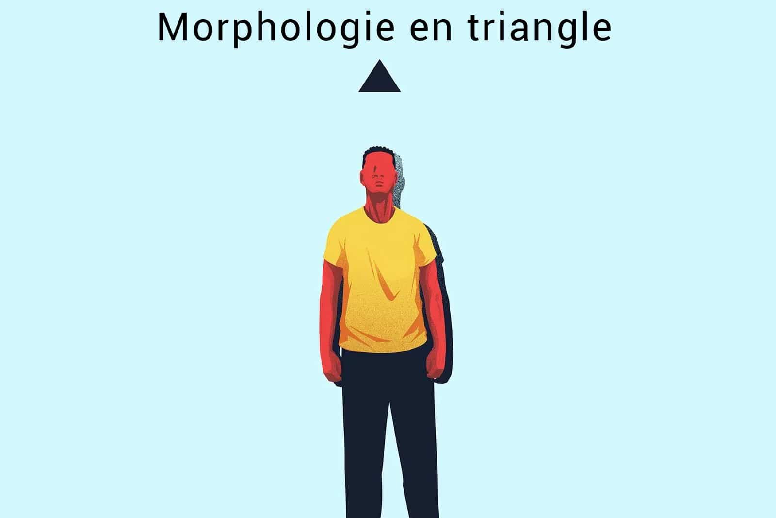 morphologie en triangle homme