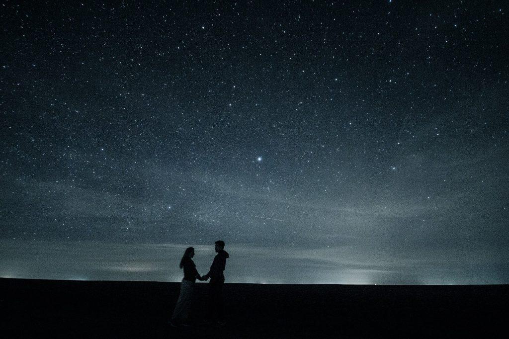 soirée observation des étoiles pour un premier rendez vous
