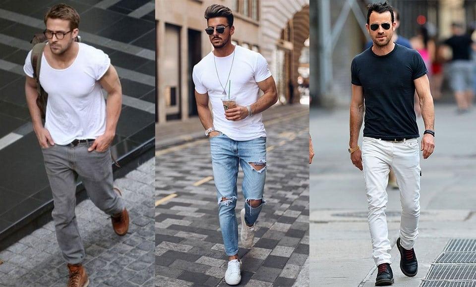 bien s'habiller avec un t-shirt homme