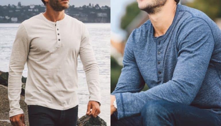 t-shirt Henley
