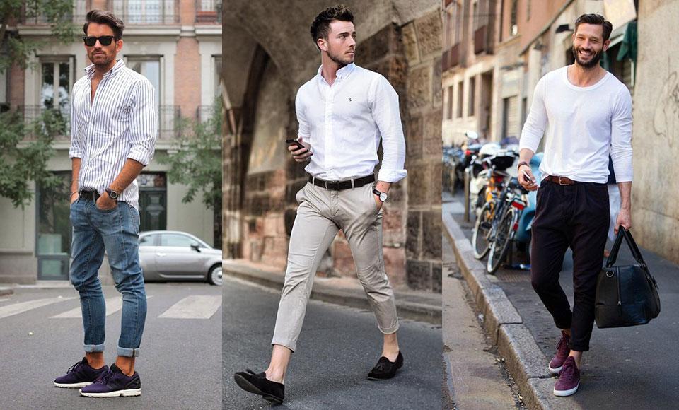 vêtements de base homme